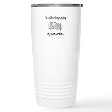 Playing My Concertina Travel Mug