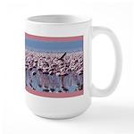 Flamingoes Large Mug