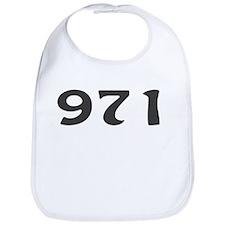 971 Area Code Bib