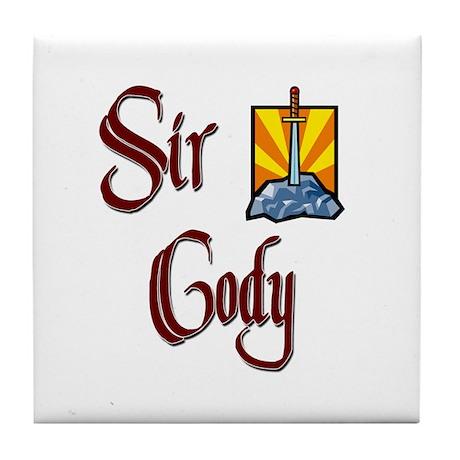Sir Cody Tile Coaster