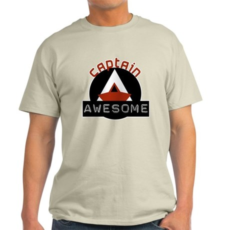 Captain Awesome 4 Light T-Shirt