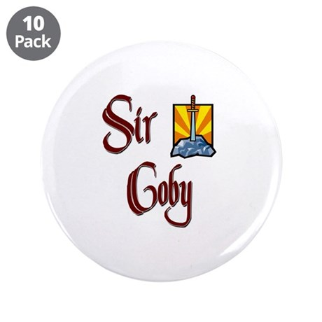 """Sir Coby 3.5"""" Button (10 pack)"""
