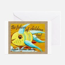 Funny Childrens ministry Greeting Card