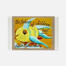 Cute Childrens ministry Rectangle Magnet