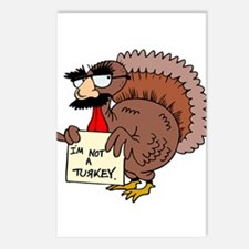 Funny Thanksgiving Postcards (Package of 8)