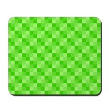 Green Squares Mousepad