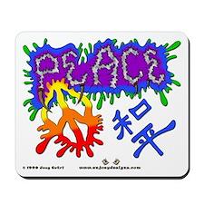 Peace - Mousepad