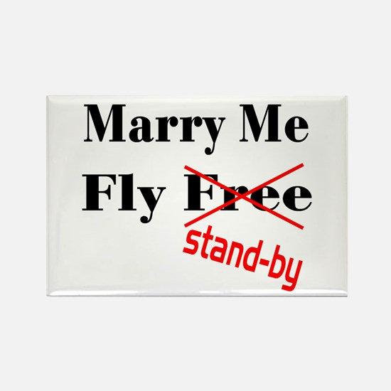 Marry Me! Rectangle Magnet