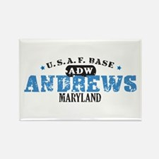 Andrews Air Force Base Rectangle Magnet