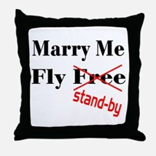 Marry Me! Throw Pillow