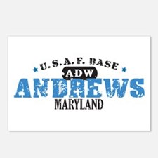 Andrews Air Force Base Postcards (Package of 8)