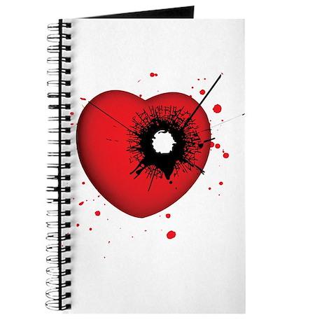 Bullet Hole Heart Journal