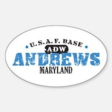 Andrews Air Force Base Oval Decal