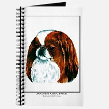 Japanese Chin Red Portrait Journal