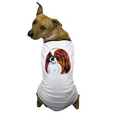 Japanese Chin Red Portrait Dog T-Shirt