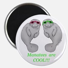 Cool Manatee Magnet