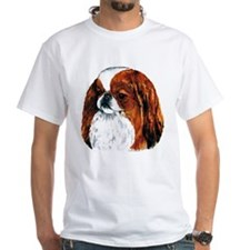 Japanese Chin Red Portrait Shirt