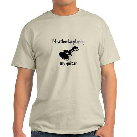 Playing My Guitar Light T-Shirt