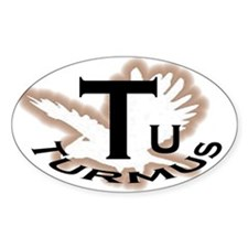 Turmus Car Oval Decal