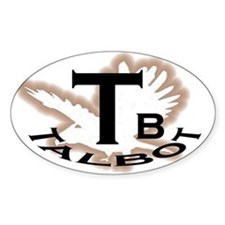 Talbot Car Oval Decal