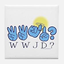 WWJD? Tile Coaster