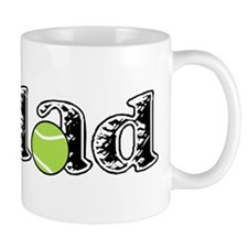Tennis Dad Small Mug
