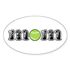 Tennis Mom Oval Decal