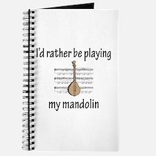 Playing My Mandolin Journal