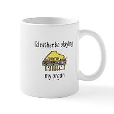 Playing My Organ Mug