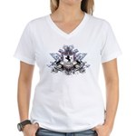 Cullen Crest Women's V-Neck T-Shirt