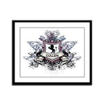 Cullen Crest Framed Panel Print