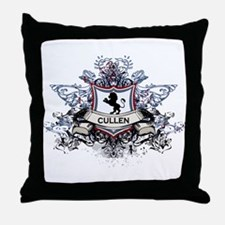 Cullen Crest Throw Pillow