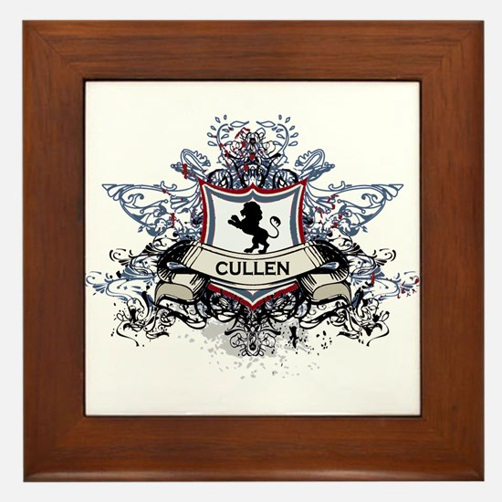 Cullen Crest Framed Tile