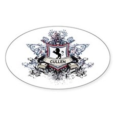 Cullen Crest Oval Stickers