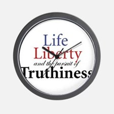 Cute Truthiness Wall Clock