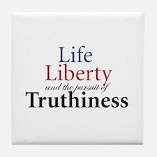 Cute Truthiness Tile Coaster