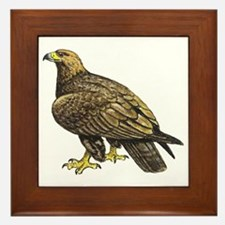 Golden Eagle Framed Tile