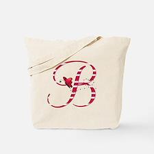 Monogrammed (B) Tote Bag