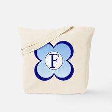 Monogrammed( F) Tote Bag
