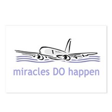 Miracle Plane Postcards (Package of 8)