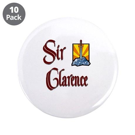 """Sir Clarence 3.5"""" Button (10 pack)"""