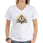 Cullen Crest Women's V-Neck T-Shirt