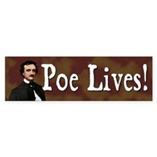 Poe Lives Bumper Car Sticker