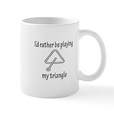 Playing My Triangle Mug