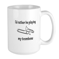 Playing My Trombone Mug