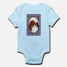 Red Japanese Chin Designer Infant Creeper