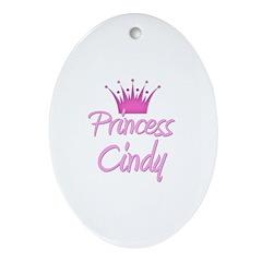 Princess Cindy Oval Ornament