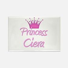 Princess Ciera Rectangle Magnet