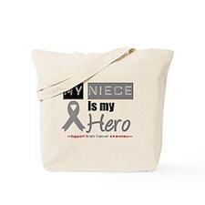 Brain Cancer Niece Tote Bag