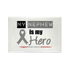 Brain Cancer Nephew Rectangle Magnet